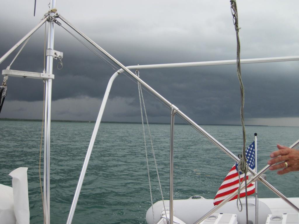 Rain is coming!