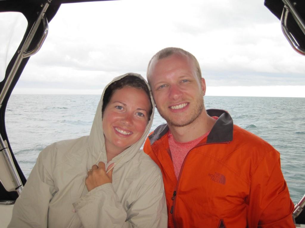 Tammy & Tony Learning the ropes!  The Good & the Bad!!