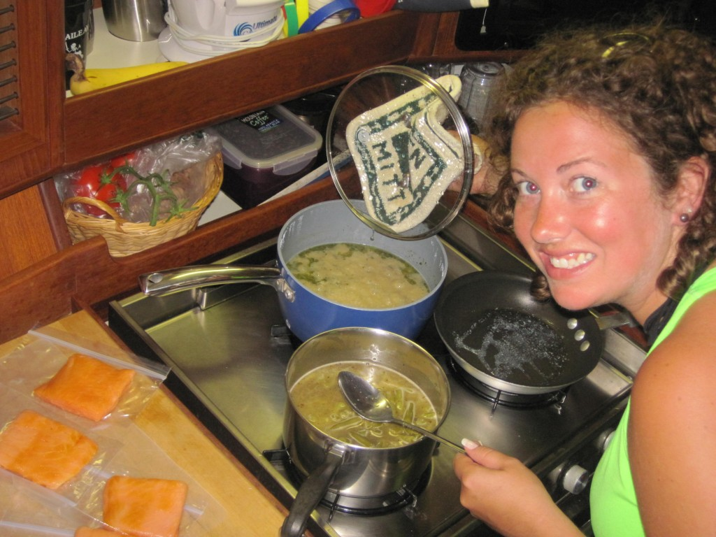 Tonite's Galley Chef